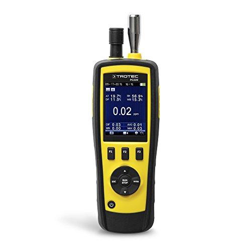 TROTEC Partikelzähler PC220 Handmessgerät Luftpartikel Klimadatenerfassung