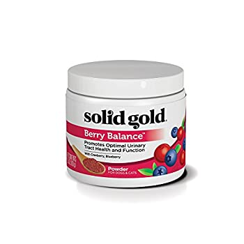Solid Gold Dog & Cat Supplements for Urinary Tract Health and Testing  Berry Balance Chews and Powder with Antioxidant-rich cranberries