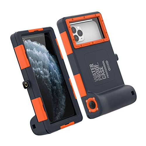 UKCOCO Funda impermeable para teléfono compatible con la serie Samsung - Universal para fotos y vídeo, impermeable, para buceo bajo el agua y esnórquel