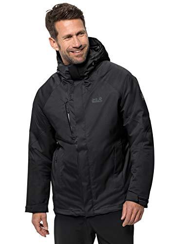 Jack Wolfskin Herren Troposphere Jacket M Wetterschutzjacke, black, M