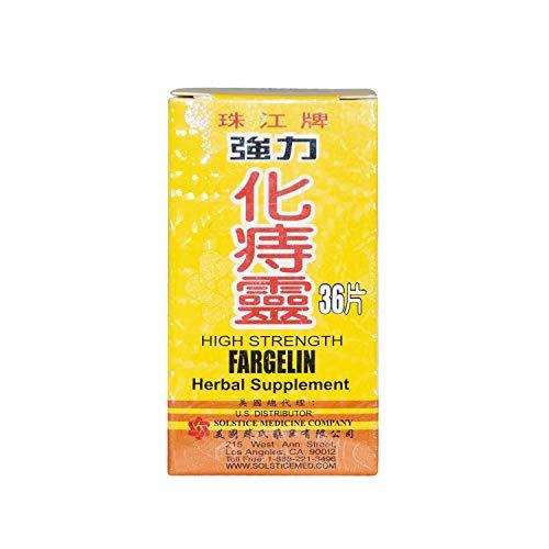High Strength Fargelin 36 Tablets Per Bottle Chu Kiang Brand