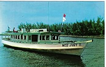 S301 Miss Judy II Deep Sea Fishing postcard