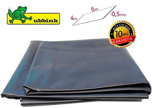 Ubbink Teichfolie Aqualiner 0,5 mm PVC (6m x 4m)