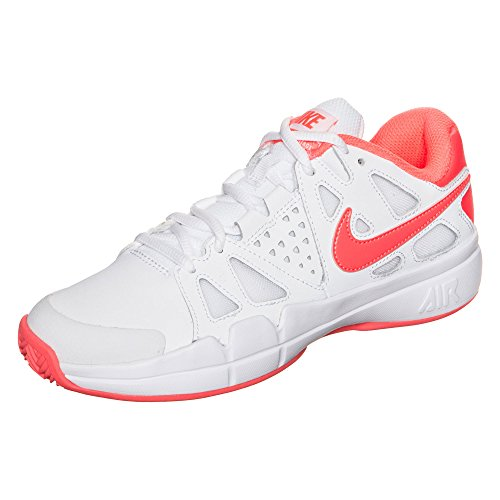 Nike W Air Vapor Advantage Cly, Scarpe da Tennis Donna, Bianco (Blanco (White/Bright Mango-Atomic Pink), 41