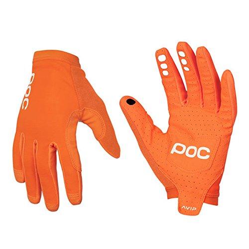 POC Avip Radfahren, Handschuhe Herren S Orange (Zink orange)