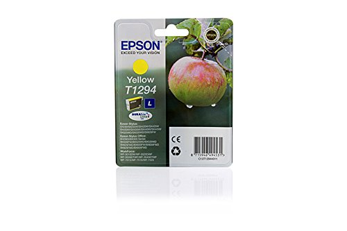 Original Epson C13T12944010 / T1294 Tintenpatrone Yellow für Epson Stylus Office BX 625 FWD