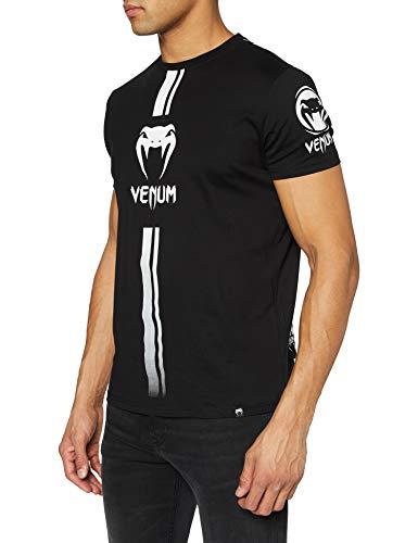 Venum Herren T-Shirt Logos, Schwarz/...