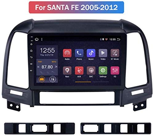2G RAM 32G ROM Android 8.1 Car Multimedia GPS Radio Stereo For Hyundai Santa Fe 2005-2012 Car Video Navigation, Supports Multiple Audio Format,Eight Cores