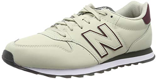 New Balance Herren 500 Sneaker, Rot (Red/Grey Red/Grey), 42 EU