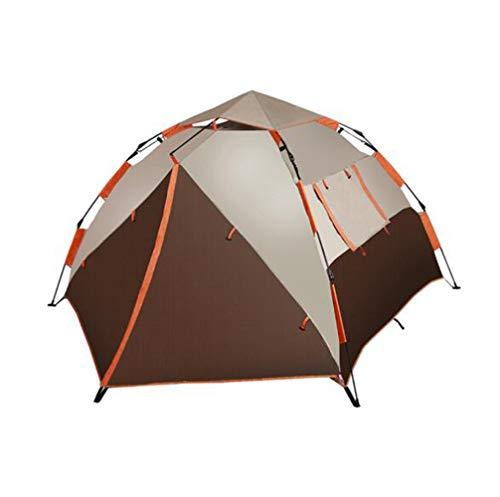 fgf F.TG Dôme d'abri pour extérieur, Protection UV Tente pour la Plage, Les Festivals et Le Camping 3-4 Personnes Grand Espace Brown/A