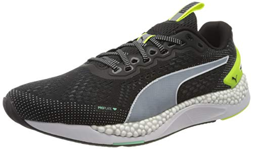PUMA Speed 600 2, Zapatillas para Correr de Carretera Hombre, Negro Black/Yellow Alert, 41 EU