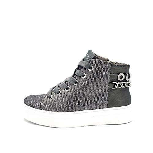 Liu-Jo Sneaker 4F0721EX014S1034 Alicia 127 - Mid Sneaker Steel