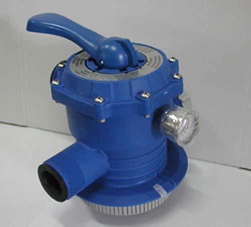 PERAGASHOP Intex - Válvula de 6 vías con Bomba de Arena con clorador 28646/28678/28676 (11378)