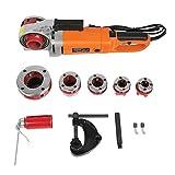 Yeelur Roscadora de Tubos eléctrica Que Ahorra Mano de Obra, Kit de accionamiento eléctrico(European Standard 220V)