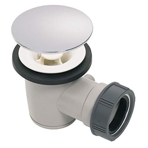 Wirquin 30719902 -TOURBILLON, desagüe de ducha para plato D50 mm, cromado