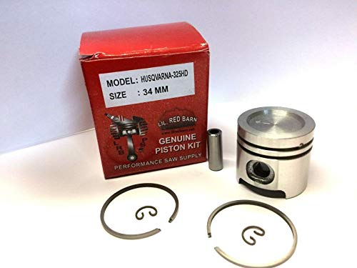 Find Bargain Lil Red Barn Piston Kit Fits Husqvarna 223L HA110, HA150, 327,326 String Trimmers Repla...