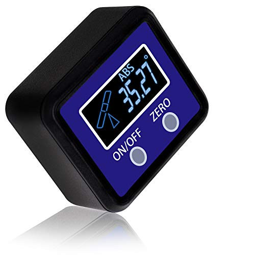 Angle Gauge, eOUTIL Digital Protractor/Inclinometer/Angle Finder with V-Groove Magnetic Base -...