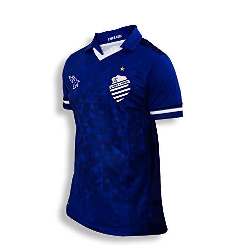 Camisa Jogador Oficial Time Azulão CSA N°10 Uniforme 2 Cor Azul Ano 2019 (GG)