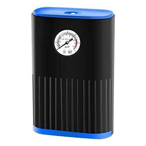 Neumático digital Inflador mini bomba de aire eléctrica portátil de conexión rápida...