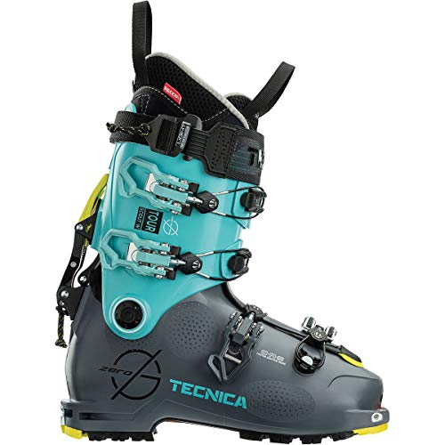 Tecnica Zero G Tour Scout Scarponi da Sci Alpinismo, da donna, blu, 24.5
