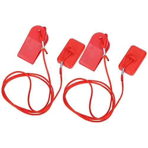 SALUTUYA Atracción magnética, fácil de Usar, Llave para Correr, Profesional, 2 Piezas, rectángulo, Equipamiento Deportivo