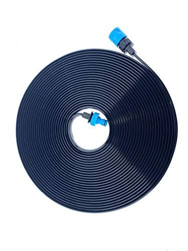 Bewässerungsschlauch Beregnungsschlauch / Sprühschlauch 20m / sofort Einsatzbereit mit handelsüblichen Steckverbindungen