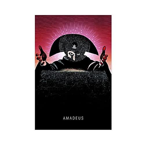 Art Amadeus Poster sur toile pour décoration de chambre à coucher, de sport, de bureau, de chambre, cadeau 40 × 60 cm, sans cadre