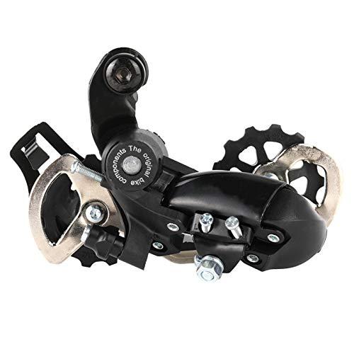 FOLOSAFENAR Desviador Trasero Ligero de 6 7 8 velocidades Desviador de Bicicleta de montaña Metal Profesional para Bicicleta de montaña