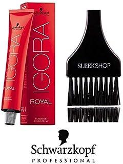 95d8e46e1b Schwarzkopf Professional Igora Royal Permanent Hair Color (with Sleek Tint  Brush) (8-