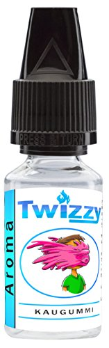10ml Twizzy® Kaugummi Aroma   Aroma für Shakes, Backen, Cocktails, Eis   Aroma für Dampf Liquid und E-Shishas   Flav Drops   Ohne Nikotin 0,0mg