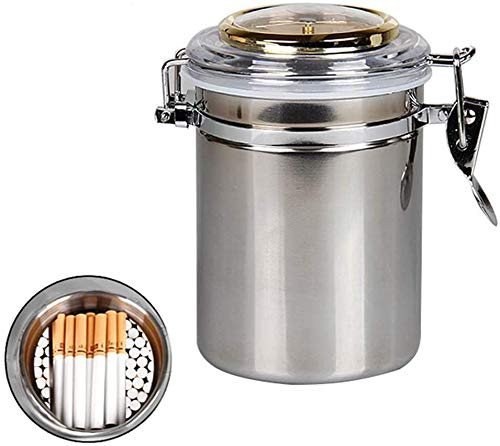 Roestvrij stalen container vocht Cigarette grote capaciteit sigarenkistje Ultra-licht, draagbaar snuifdoos Can 120 sigaretten