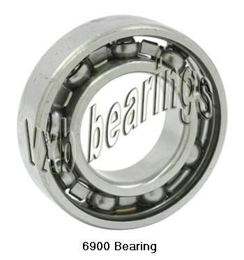 6900 Bearing Deep Groove 6900 Ball Bearings