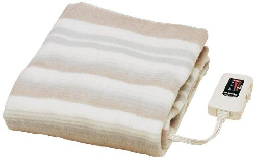 Sugiyama 電気敷き毛布 日本製 洗える ダニ退治 140×80cm NA-023S