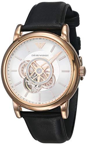 Emporio Armani Luigi AR60013 reloj automático de los hombres con esfera plateada