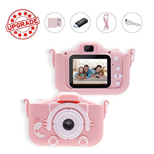 Why Should You Buy Kids Camera, BZ Kids Camera for Girls, 1080P Kids Digital Video Camera with 2 Inc...