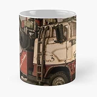 Ford Wrecker Lorry Truck - Best Gift Ceramic Coffee Mugs 11 Oz