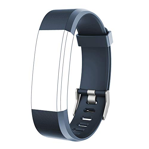 YAMAY Replacement wristband for fitness tracker 'ID115Plus HR' (grey)