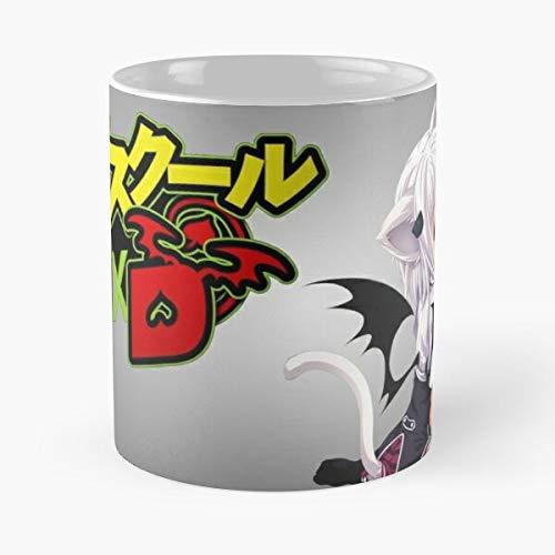 High school Loli Animeboy Animegirl Koneko Anime DxD Manga Best Taza de café de cerámica de 315 ml Eat Food Bite John Best Taza de café de cerámica de 315 ml