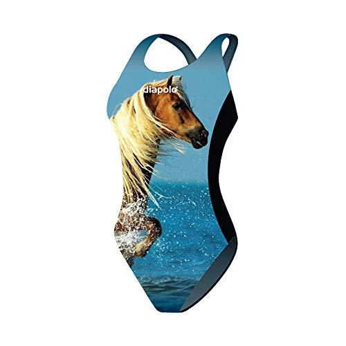 Diapolo Horse2 Damen Badeanzug (XL)