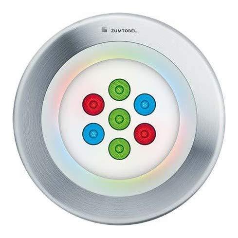 Zumtobel luce lampada da incasso al suolo paso2# 608124957/2W LED RGB LDO FL Paso II Lampada da incasso al suolo 4024318798035