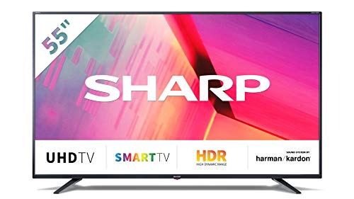 Télé LED 55 Pouces Sharp 55 Bj 3 E