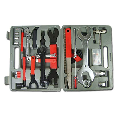 Allnice Bike Tool Kit, 44 Pcs Bike Repair Tool Kit Bicycle Tools with Carrying Case, A Must-Have Maintenance Tools Set Bike Accessories for Mountain/Road Bikes