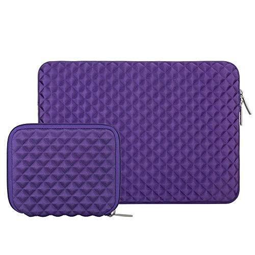 Laptop Bag Soft 13.3-inch Laptop Case for Laptop Case Laptop Case (Colore : Purple, Dimensioni : 15 inch)