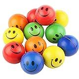 12 Stück Stress Ball Stressabbaukugel Antistressball Knautschball Kleiner Ball Stresserleichterung...