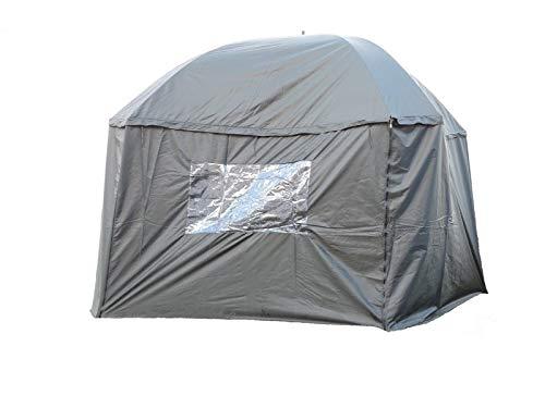 Cave Innovations PitchPal Umbrella Tent, Detachable Umbrella & Tent, Hybrid Tent For Camping, Picnics, Outdoor, Festivals, Garden, PVC Windows, Portable