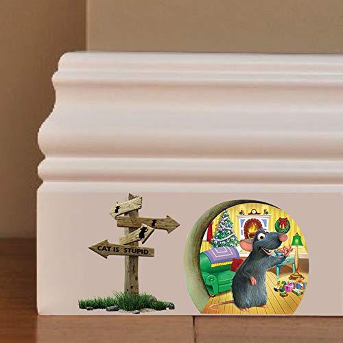 VIOYO wandstickers, wandtattoo, om te knutselen, met affiches, vinyl, voor binnendecoratie, voor kinderen, dieren, kamers