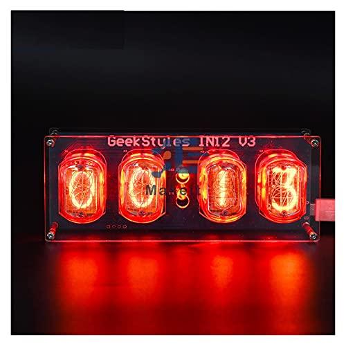 ZRYYD Micro USB IN12 IN-12 PCBA Glow Tube DIY Retro Clock Module Nixie Tube Micro USB 5V 1A Digital LED Takt Leiterplatte PCBA DIY