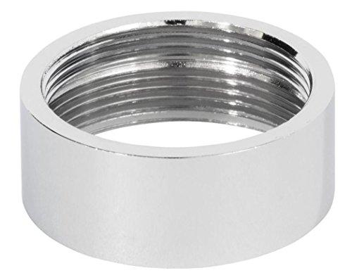 Vrouwelijke 24mm tot 22mm FxF metalen adapter voor waterbesparende keukenkraan beluchter