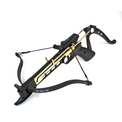 Ace Martial Arts Supply Cobra System Self Cocking Pistol Tactical Crossbow, 80-Pound (2 Bows, 2 Strings, and 15 Arrows)
