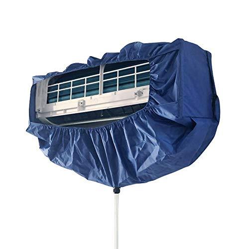 Yatter Cubierta de Limpieza de Aire Acondicionado, Aire Acondicionado de Pared Cubierta de Lavadora Impermeable y a Prueba de Polvo, Adecuada para Limpieza de Aire Acondicionado por Debajo de 2P